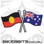 Australian and Aboriginal Flags