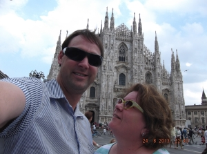 Trish & Eric Milan