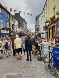 Looking down Quay Street, Galway